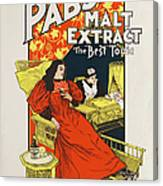 Pabst Malt Extract, The Best Tonic Canvas Print
