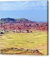 Painted Desert Panorama Canvas Print