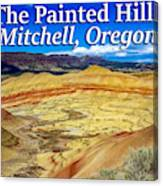 Painted Hills 01 Canvas Print