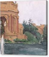 Palace Of Fine Arts, 2018 Canvas Print