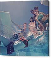Palm Springs Fashion, No. 8 Canvas Print