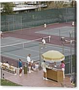 Palm Springs Tennis Club Canvas Print