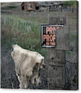 Palouse Barn 9916 Canvas Print