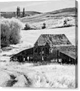 Palouse Barn Ir 9305 Canvas Print