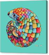 Pangolin Canvas Print