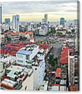 Panorama Of Ho Chi Minh City Canvas Print
