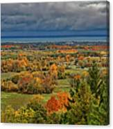 Panoramic Autumn View Canvas Print