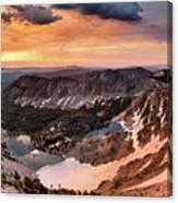 Panoramic Cdt Sunrise Canvas Print