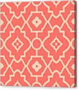 Pantone Pattern Canvas Print