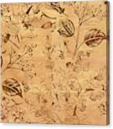 Paper Petal Patterns Canvas Print