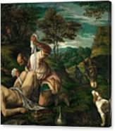 Parable Of The Good Samaritan  Canvas Print