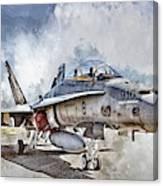 Parked Hornet Canvas Print
