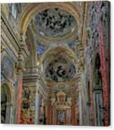Parrocchia Santa Maria In Vallicella Canvas Print