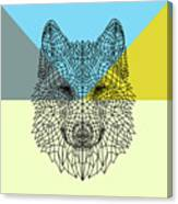 Party Wolf Canvas Print