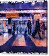 Passengers #3 Canvas Print