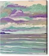 Pastel Night Canvas Print