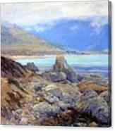 Path Along The Shore Canvas Print