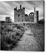 Path To Kilchurn Castle Canvas Print