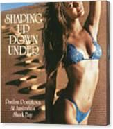 Paulina Porizkova Swimsuit 1985 Sports Illustrated Cover Canvas Print
