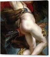 Pedro Pablo Rubens / 'the Rape Of Ganymede', 1636-1637, Flemish School, Oil On Canvas. Canvas Print