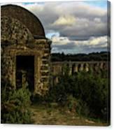 Pegoes Aqueduct Canvas Print