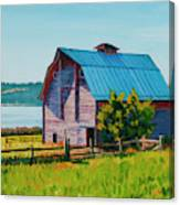 Penn Cove Barn Canvas Print