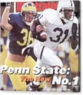 Penn State University Freddie Scott Sports Illustrated Cover Canvas Print