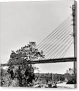 Penobscot Narrows Bridge And Observatory Canvas Print