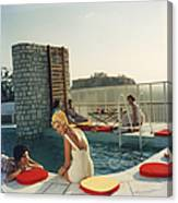 Penthouse Pool Canvas Print