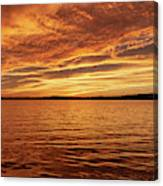Percy Priest Lake Sunset Canvas Print