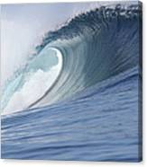 Perfect Wave Canvas Print