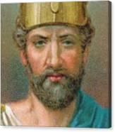 Perikles C490-429 Bc, Athenian Canvas Print