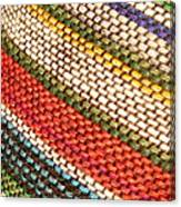 Peruvian Fabric Art Canvas Print