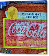 Petalima's Drink Coca-cola Canvas Print