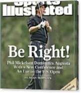 Phil Mickelson, 2006 Masters Sports Illustrated Cover Canvas Print