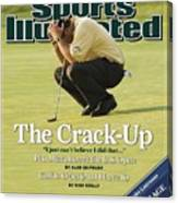 Phil Mickelson, 2006 Us Open Sports Illustrated Cover Canvas Print
