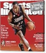 Philadelphia 76ers Elton Brand... Sports Illustrated Cover Canvas Print