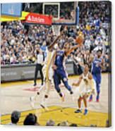 Philadelphia 76ers V Golden State Canvas Print