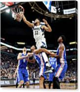 Philadelphia 76ers V Minnesota Canvas Print