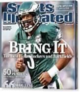 Philadelphia Eagles Qb Donovan Mcnabb, 2008 Nfl Football Sports Illustrated Cover Canvas Print