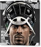 Philadelphia Eagles Qb Michael Vick Sports Illustrated Cover Canvas Print