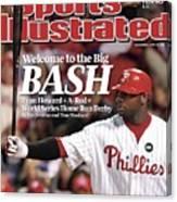 Philadelphia Phillies Ryan Howard, 2009 Nl Championship Sports Illustrated Cover Canvas Print