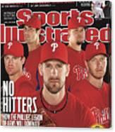 Philladelphia Phillies Starting Five, 2011 Mlb Baseball Sports Illustrated Cover Canvas Print