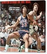 Phoenix Suns Alvan Adams, 1976 Nba Finals Sports Illustrated Cover Canvas Print