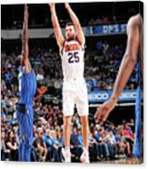 Phoenix Suns V Dallas Mavericks Canvas Print