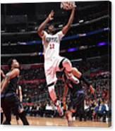 Phoenix Suns V La Clippers Canvas Print