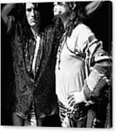 Photo Of Aerosmith Canvas Print