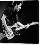 Photo Of Bruce Springsteen Canvas Print