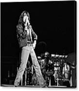 Photo Of Charlie Watts And Mick Jagger Canvas Print