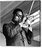 Photo Of Dizzy Gillespie Canvas Print